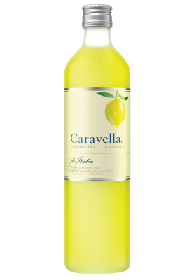 Caravella Limoncello bottle