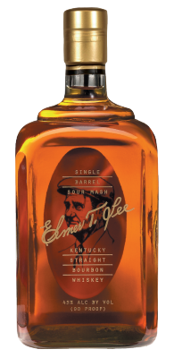 Elmer T. Lee Bottle with transparent background