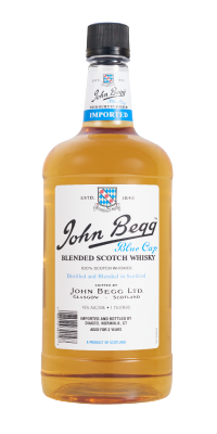 John Begg Scotch Bottle