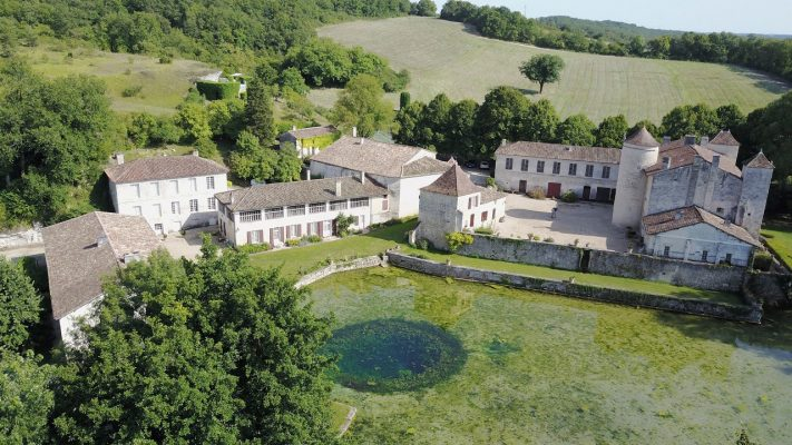 Download Aerial image of Logis de Forge Estate