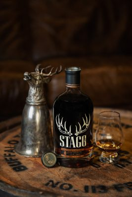 Download Stagg Jr on barrel head with a pour and trinket