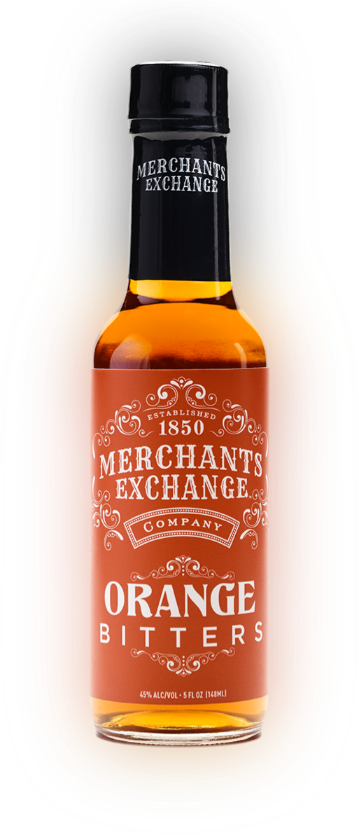 Merchants Exchange Orange Bitters Bottle
