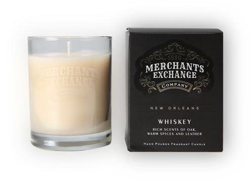 Merchants Exchange Whiskey Scented Candle