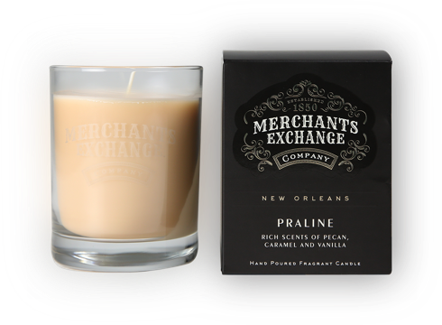 Merchants Exchange Praline Scented Candle