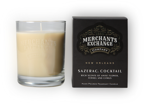 Merchants Exchange Sazerac Cocktail Scented Candle