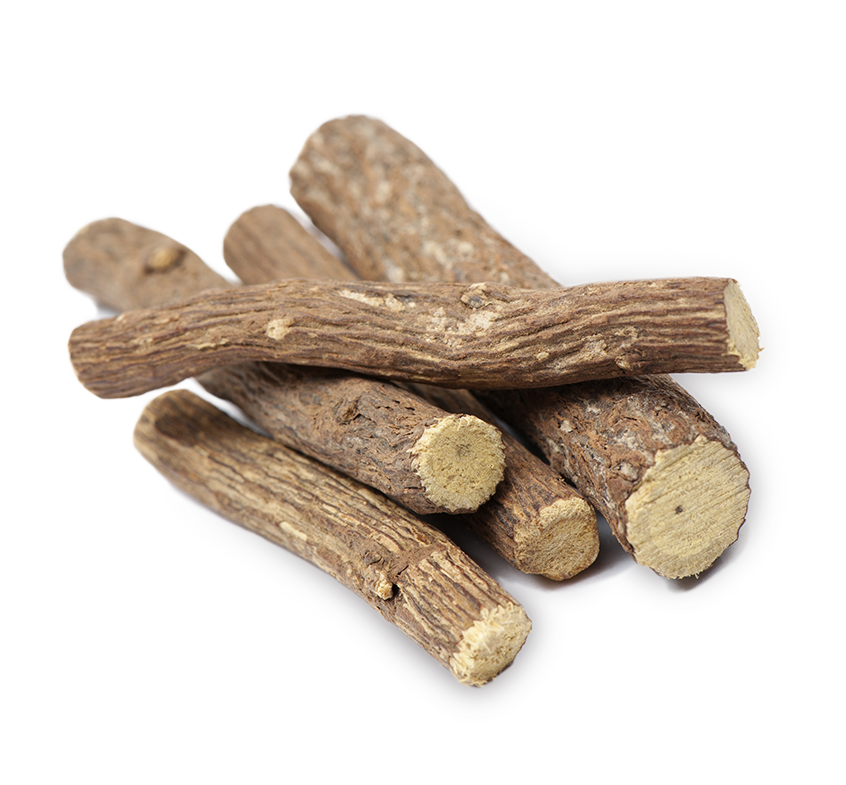 licorice roots, on transparent background