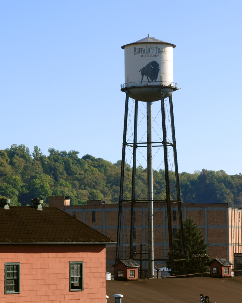 The Buffalo Trace Distillery is located in Frankfort, Kentucky
